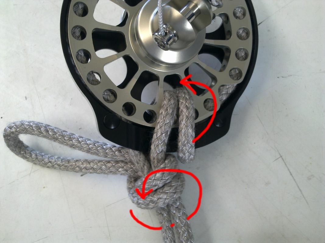 Bamar Rope Bight Furling Drum Lock
