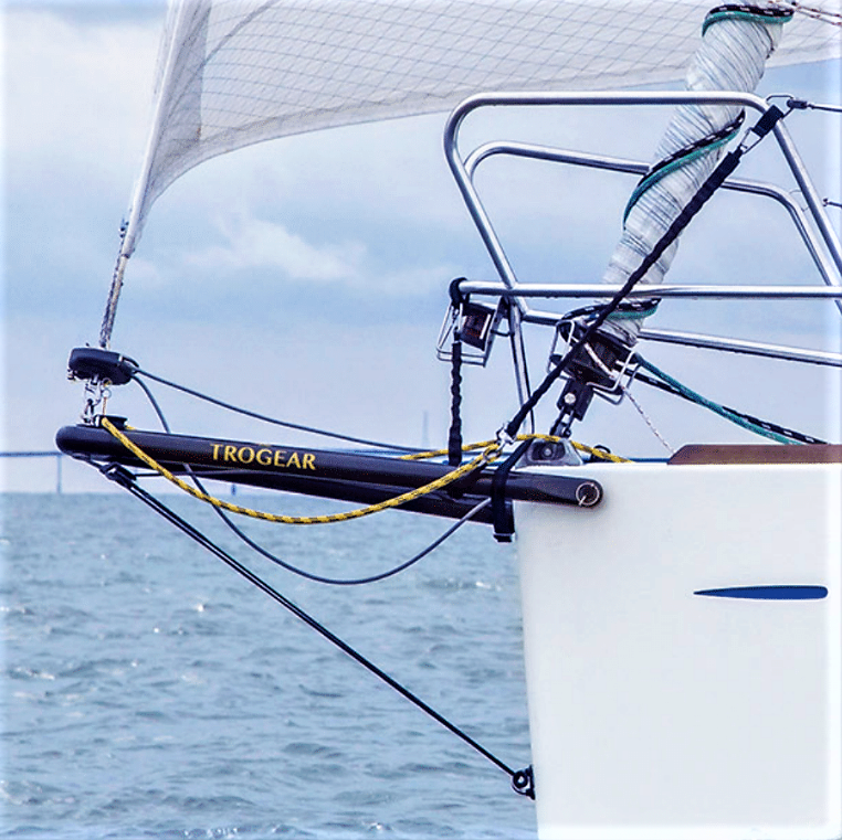 How do I rig the bobstay on my Trogear bowsprit?