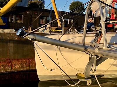 Bamar BWSE Electric Bowsprit Furler Lagoon 50