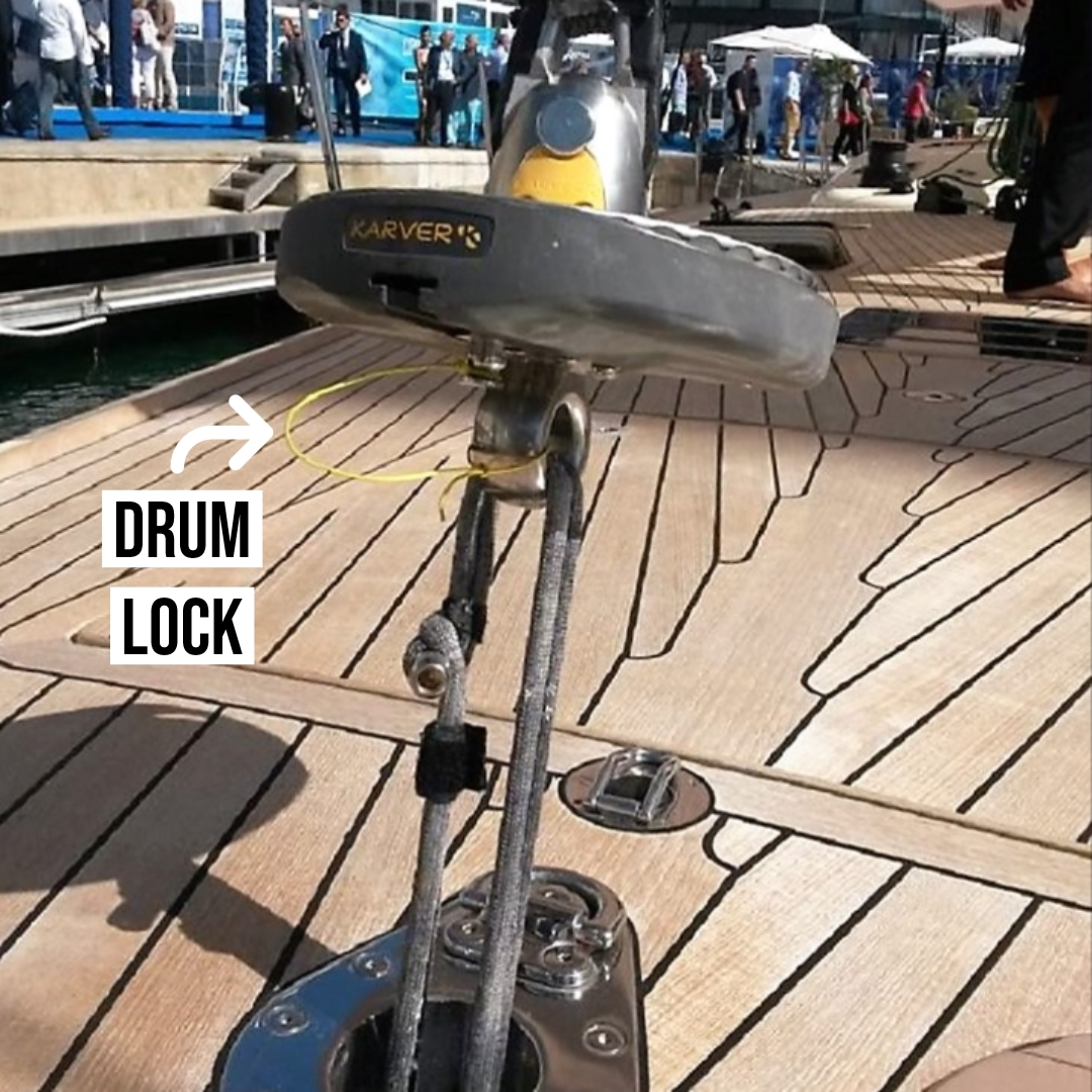 Karver Furling Drum Lock