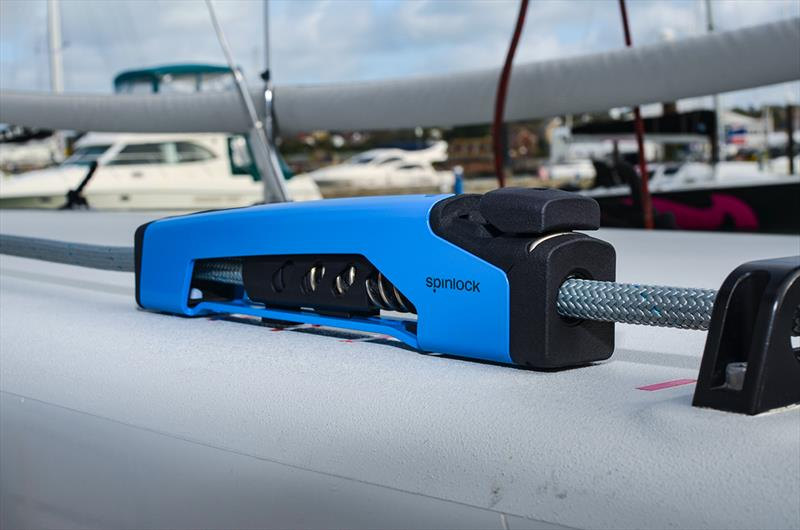 Spinlock XTX on a boat