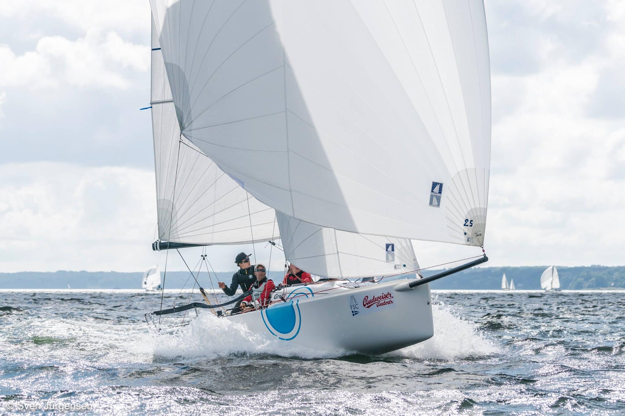 Upffront J70 With Harken Furler