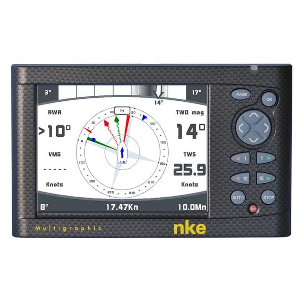 nke Marine Electronics Multigraphic Display