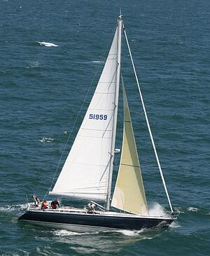 Hanked-on Staysail - Grand Soliel 46