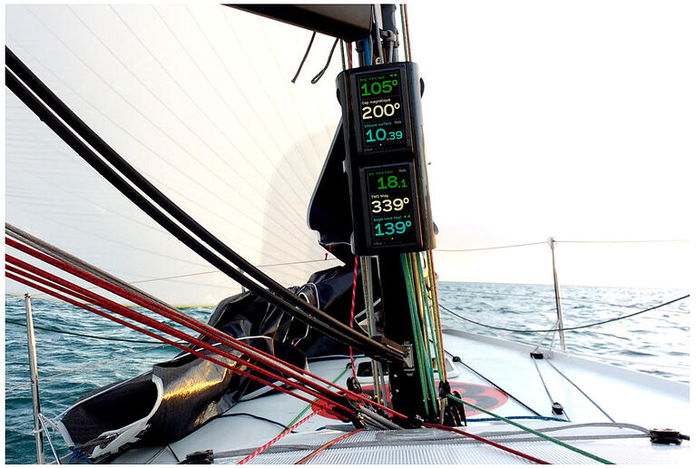 The nke Multidisplay – All of your boat data in one place