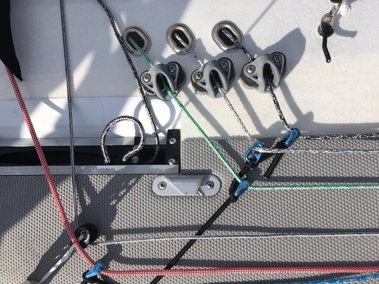 Ronstan SHOCK Blocks - Simple Efficient Low Friction Rings