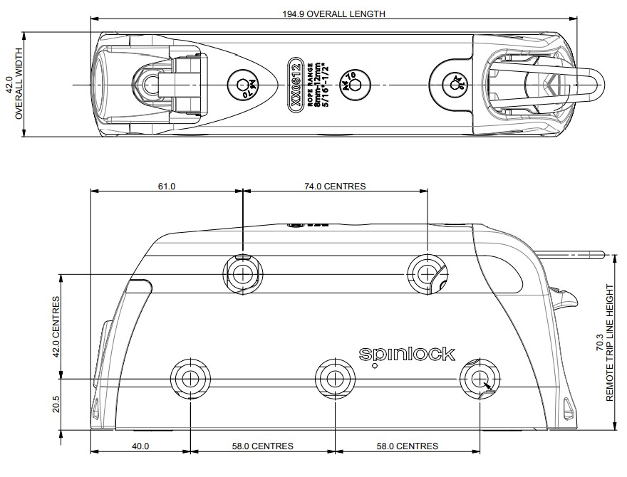 diagram of spinlock clutch